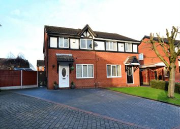 Thumbnail 3 bedroom semi-detached house for sale in Trojan Gardens, Salford