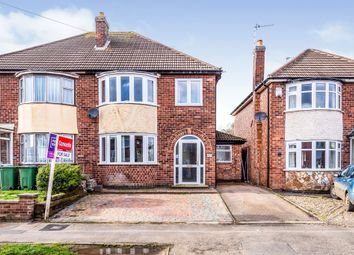 Thumbnail 3 bed semi-detached house for sale in Trinity Road, Enderby, Leicester