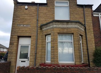 Thumbnail 4 bed end terrace house to rent in Burntland Avenue, Southwick, Sunderland, Tyne And Wear