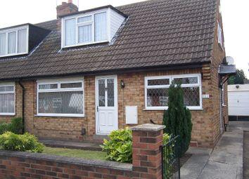 Thumbnail 4 bedroom semi-detached bungalow to rent in Hazel Garth, York