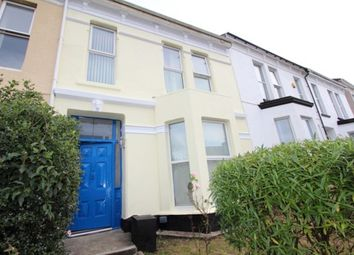 Thumbnail 5 bed terraced house to rent in Furzehill Road, Mutley, Plymouth