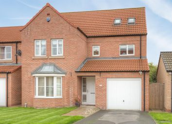 Thumbnail 6 bed detached house for sale in Heather Drive, Sherburn In Elmet, Leeds