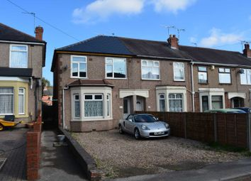 Thumbnail 3 bed end terrace house for sale in Conrad Road, Coventry