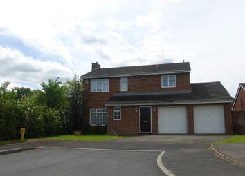 Thumbnail 4 bed detached house for sale in Ladywell Close, Hempsted, Gloucester