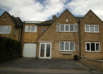 Thumbnail 4 bed semi-detached house to rent in Adlington Road, Oadby