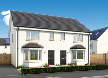"Thumbnail 3 bedroom semi-detached house for sale in ""The Buchanan"" at Standford Hall, Main Street, Cambuslang, Glasgow"