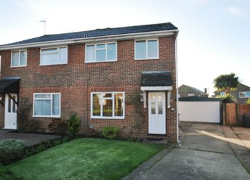 Thumbnail 3 bed semi-detached house to rent in Cowdrey Close, Willesborough, Ashford