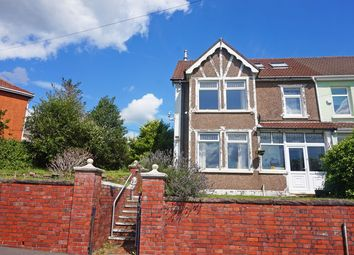 Thumbnail 5 bed semi-detached house for sale in Graig Road, Hengoed