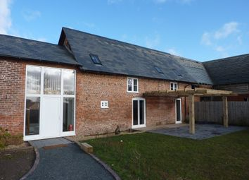 Thumbnail 4 bed barn conversion to rent in Petton, Burlton, Shrewsbury