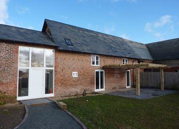 Thumbnail 4 bedroom barn conversion to rent in Petton, Burlton, Shrewsbury