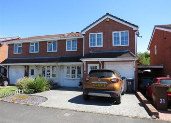Thumbnail 4 bed semi-detached house to rent in Harlech Way, Stretton, Burton-On-Trent