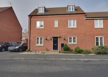 Thumbnail 4 bed town house for sale in Babbage Crescent, Corby