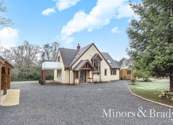 Thumbnail 3 bed detached house for sale in Lady Lane, Hainford, Norwich