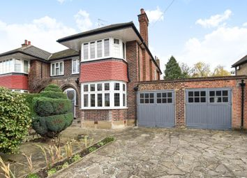 Thumbnail 3 bed semi-detached house for sale in Holders Hill Road, Mill Hill East