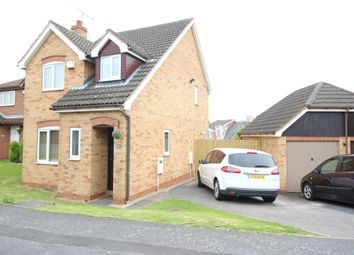 Thumbnail 3 bed detached house for sale in Meadow Lea, Worksop