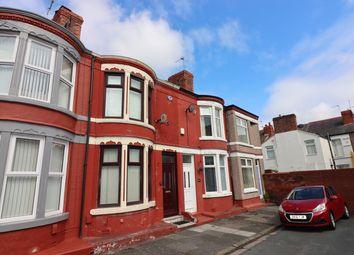 Thumbnail 2 bed terraced house for sale in Oakbank Street, Wallasey, Merseyside