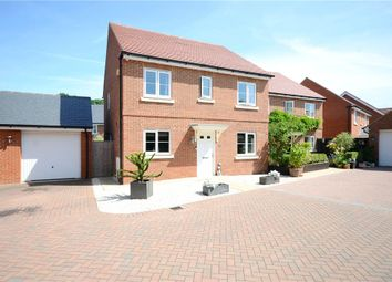 Thumbnail 4 bed detached house for sale in Grazeley Road, Three Mile Cross, Reading