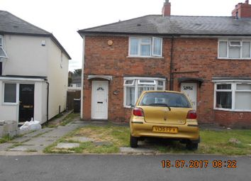 Thumbnail 2 bed semi-detached house for sale in Denville Crescent, Bordesley Green
