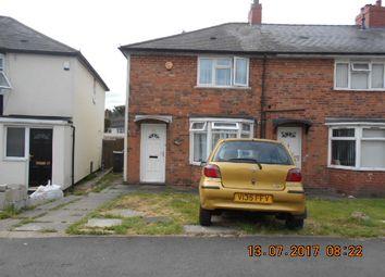 Thumbnail 2 bedroom semi-detached house for sale in Denville Crescent, Bordesley Green