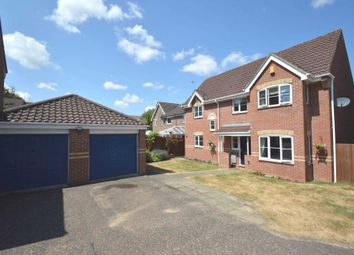 Thumbnail 4 bed detached house for sale in Husenbeth Close, Old Costessey, Norwich