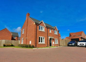 Thumbnail 4 bed detached house for sale in Sheppard Way, Rothley, Leicester