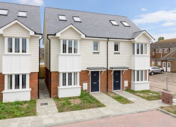 Thumbnail 3 bed semi-detached house for sale in Clock Tower Mews, Clock Tower Parade, Blean