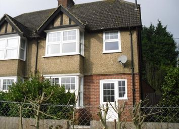 Thumbnail 3 bed semi-detached house to rent in Lower Queens Road, Ashford, Kent