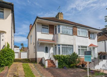 Thumbnail 3 bedroom semi-detached house for sale in Applesham Avenue, Hove