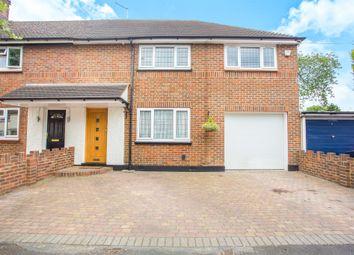 Thumbnail 4 bedroom end terrace house for sale in Rushton Avenue, Watford