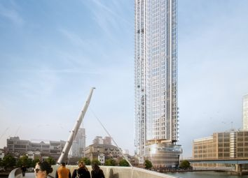1 bed flat for sale in South Quay Plaza, 3B Marsh Wall, Isle Of Dogs, London E14