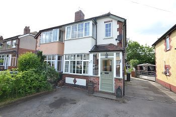 Thumbnail 3 bed semi-detached house for sale in Minor Avenue, Macclesfield, Cheshire