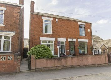 Thumbnail 2 bed semi-detached house for sale in John Street, North Wingfield, Chesterfield