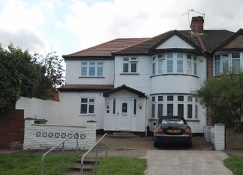 Thumbnail 4 bed semi-detached house to rent in College Hill Road, Harrow Weald, Harrow