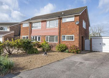 Thumbnail 3 bed semi-detached house for sale in Thorpe, Surrey