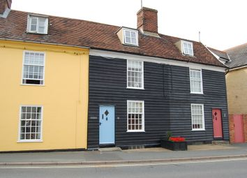 Thumbnail 3 bed town house for sale in Station Road, Woodbridge