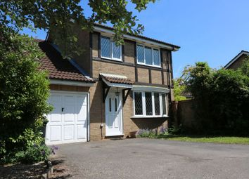 Thumbnail 4 bedroom detached house for sale in Caddy Close, Egham