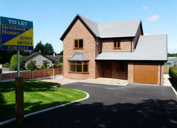 Thumbnail 4 bed detached house to rent in School Lane, Forton, Preston