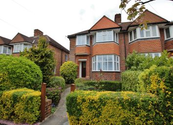 Thumbnail 3 bed semi-detached house to rent in Linkside, Finchley, London