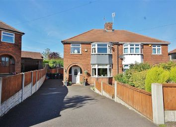 Thumbnail 3 bed semi-detached house for sale in Leabrooks Avenue, Sutton In Ashfield, Nottinghamshire