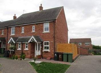 Thumbnail 2 bed semi-detached house for sale in Flatford Close, Corby