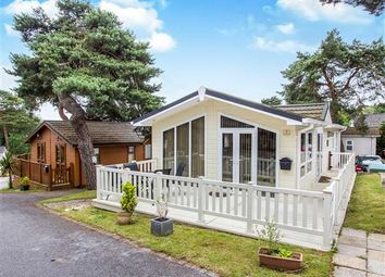 Thumbnail 2 bedroom mobile/park home for sale in Matchams Lane, Hurn, Christchurch