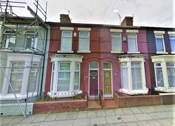 Thumbnail 2 bed terraced house to rent in Cowley Road, Walton, Liverpool