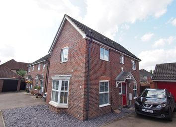 3 bed link-detached house for sale in Petty Spurge Square, Wymondham NR18