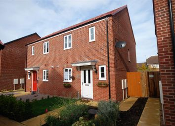 Thumbnail 2 bed semi-detached house for sale in Cherwell Close, Spalding