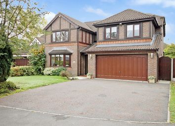 Thumbnail 4 bed detached house for sale in Doeford Close, Culcheth, Warrington
