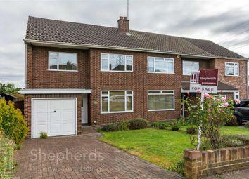 Thumbnail 3 bed semi-detached house for sale in Norris Lane, Hoddesdon, Hertfordshire