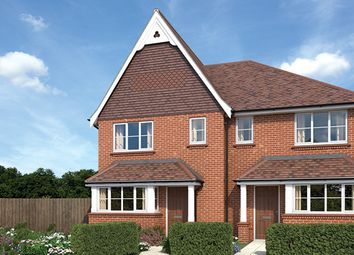 "Thumbnail 3 bed property for sale in ""The Willow"" at Wheeler Avenue, Wokingham"