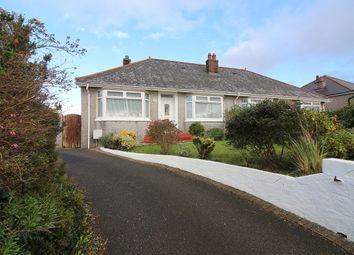 Thumbnail 3 bed semi-detached bungalow for sale in Callington Road, Saltash