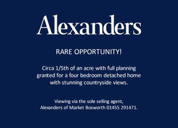 Thumbnail Land for sale in Church Road, Nailstone, Nuneaton