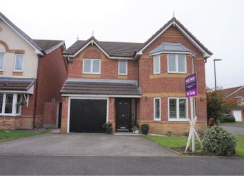 Thumbnail 4 bed detached house for sale in Peel Hall Avenue, Manchester